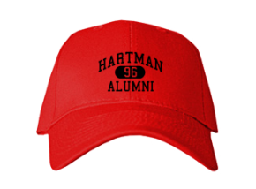 Hartman Middle School Embroidered Baseball Caps