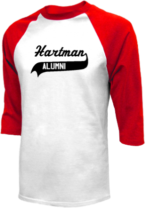 Hartman Middle School Raglan Shirts