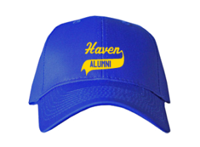 Haven Middle School Embroidered Baseball Caps