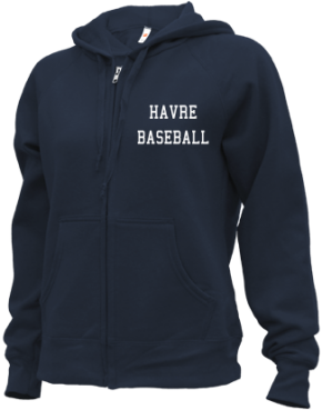 Havre High School Zip-up Hoodies