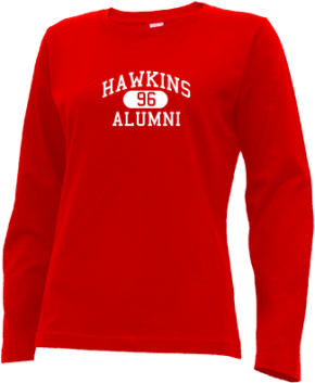 Hawkins Elementary School Long Sleeve Shirts
