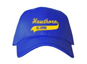 Hawthorn Middle School Embroidered Baseball Caps