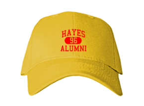 Hayes Middle School Embroidered Baseball Caps