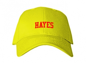 Hayes Middle School Kid Embroidered Baseball Caps