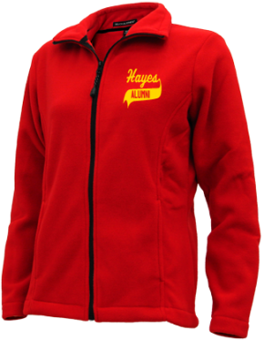 Hayes Middle School Embroidered Fleece Jackets