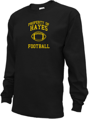 Hayes Middle School Kid Long Sleeve Shirts