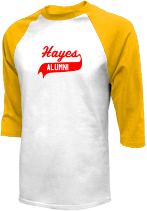 Hayes Middle School Raglan Shirts