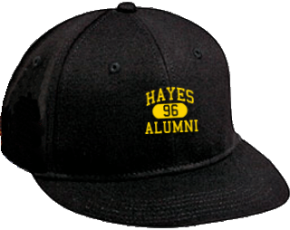 Hayes Middle School Flat Visor Caps