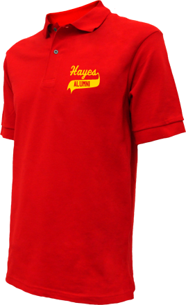 Hayes Middle School Embroidered Polo Shirts