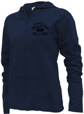 Healdton Middle School Girls Zipper Hoodies