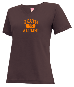 Heath High School V-neck Shirts