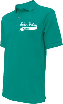 Heber Valley School Embroidered Polo Shirts