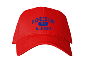 Henderson High School Embroidered Baseball Caps