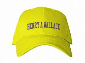 Henry A Wallace Elementary School Kid Embroidered Baseball Caps
