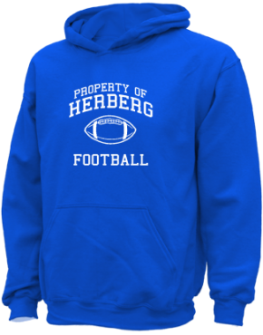 Herberg Middle School Kid Hooded Sweatshirts