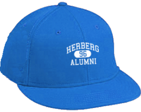Herberg Middle School Flat Visor Caps