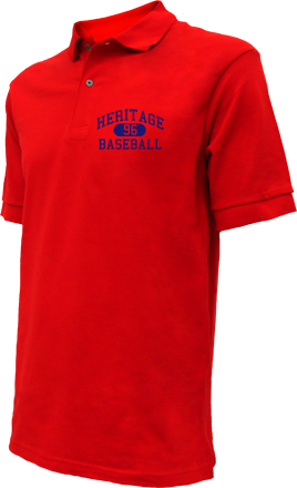 Heritage High School Embroidered Polo Shirts