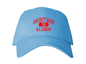 Heritage High School Embroidered Baseball Caps