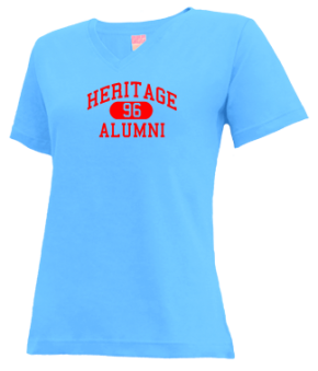 Heritage High School V-neck Shirts