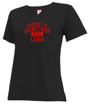 Heritage Middle School V-neck Shirts
