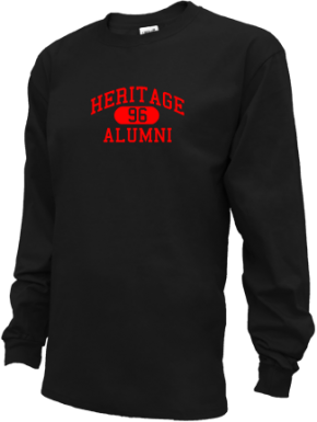 Heritage Middle School Long Sleeve Shirts