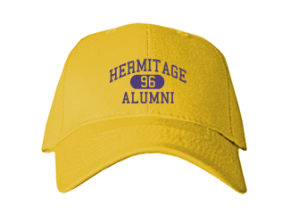 Hermitage High School Embroidered Baseball Caps