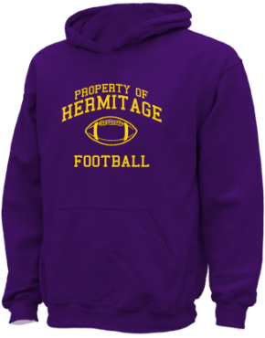Hermitage High School Kid Hooded Sweatshirts