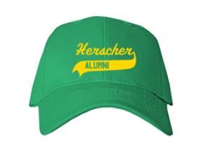 Herscher Elementary School Embroidered Baseball Caps