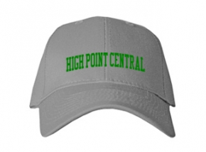 High Point Central High School Kid Embroidered Baseball Caps