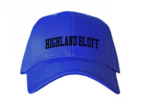 Highland Bluff Elementary School Kid Embroidered Baseball Caps