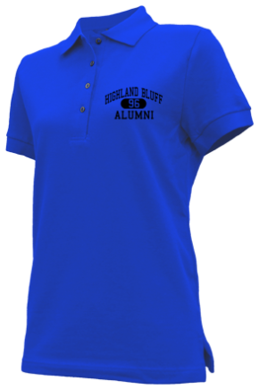 Highland Bluff Elementary School Embroidered Polo Shirts