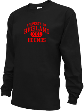 Highland Elementary School Kid Long Sleeve Shirts