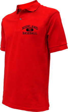 Highland High School Embroidered Polo Shirts