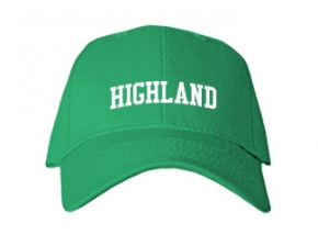 Highland Junior High School Kid Embroidered Baseball Caps