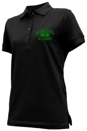 Highland Junior High School Embroidered Polo Shirts