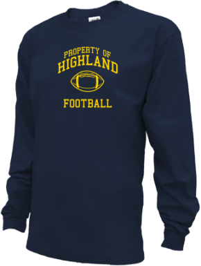 Highland Middle School Kid Long Sleeve Shirts