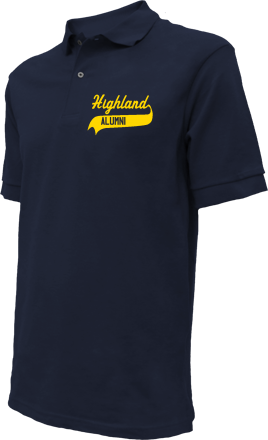 Highland Middle School Embroidered Polo Shirts