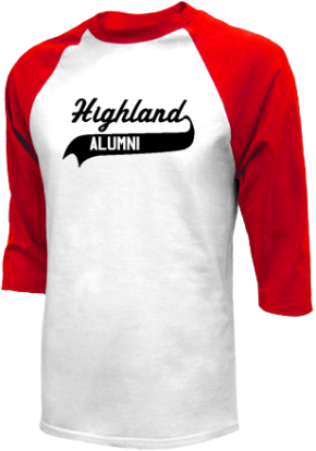 Highland Middle School Raglan Shirts