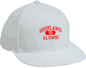 Highland Middle School Flat Visor Caps