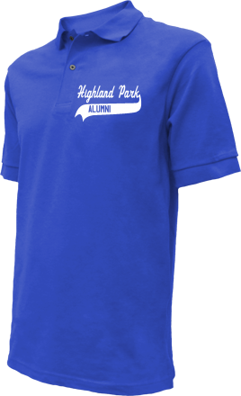 Highland Park Elementary School Embroidered Polo Shirts
