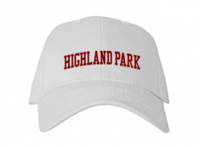 Highland Park High School Kid Embroidered Baseball Caps