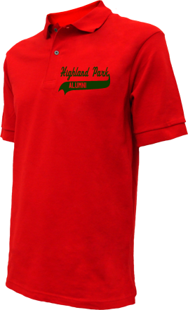 Highland Park High School Embroidered Polo Shirts