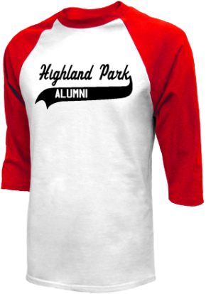 Highland Park Junior High School Raglan Shirts