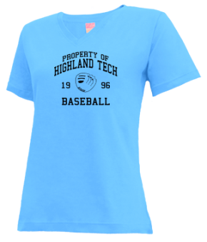 Highland Tech High School V-neck Shirts