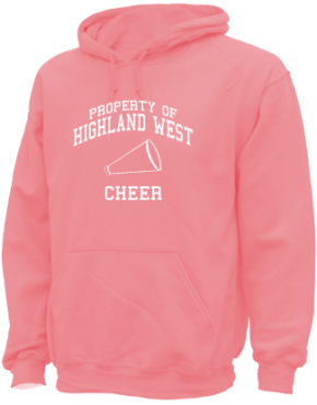 Highland West Junior High School Hoodies