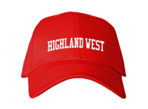Highland West Junior High School Kid Embroidered Baseball Caps