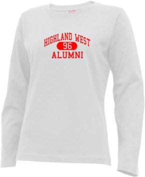 Highland West Junior High School Long Sleeve Shirts