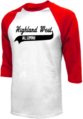 Highland West Junior High School Raglan Shirts