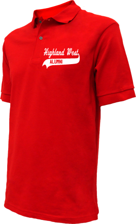 Highland West Junior High School Embroidered Polo Shirts