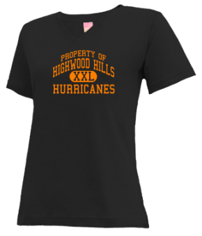 Highwood Hills Elementary School V-neck Shirts